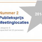 geWoonboot wint zilveren MeetingReview Publieksprijs 2014