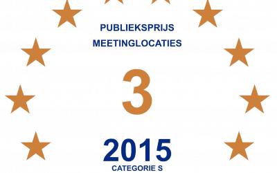 Bronzen Publieksprijs 2015 voor de geWoonboot