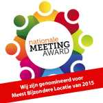 Nominatie Nationale Meeting Award. Stem je ook op ons?