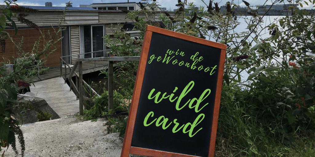 Wildcard geWoonboot vergaderlocatie, vergaderen op het water, amsterdam NDSM