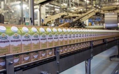 Arla Foods productpresentatie aan boord