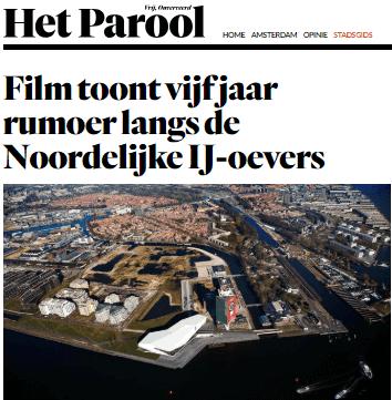 """Film vertoning """" Van Wie is het IJ, Van Wie is de Stad """""""