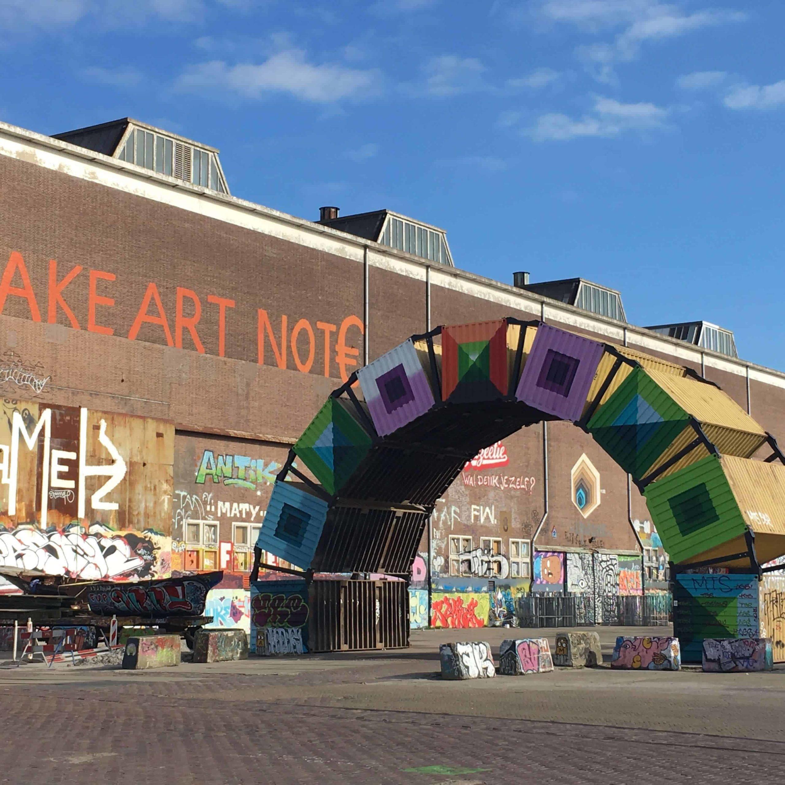 NDSM make art not€ gewoonboot