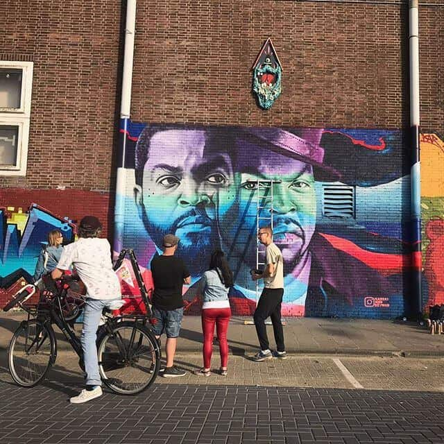 graffiti ndsm gewoonboot
