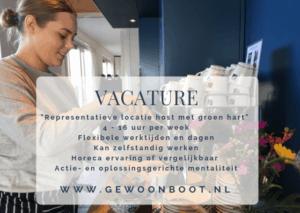 VACATURE: geWoonboot zoekt gastvrije locatie host met een hart voor duurzaamheid