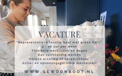V A C A T U R E : Locatie host 4 – 16 uur  per week
