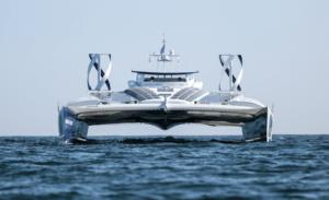 Tijdelijke nieuwe NDSM-buur: duurzaam schip 'Energy Observer'