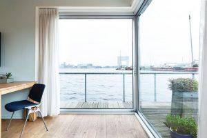 Duurzame werkplek op de geWoonboot, als thuiswerken even niet lukt tijdens de Corona periode