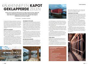 Artikel nieuwe geWoonboot in Vlot- magazine